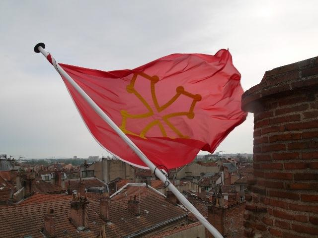 Drapeau Occitan. Photo / CTDR