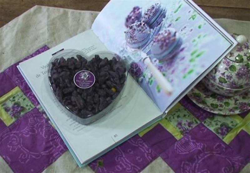 La violette, un bon cadeau pour la Saint-Valentin.