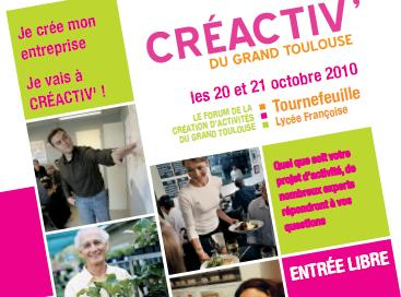 Le forum Créactiv' ouvre ses portes à Tournefeuille