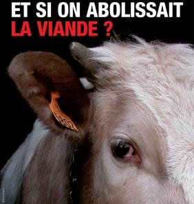 Affiche abolir la viande