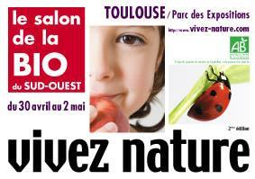 Vivez nature, salon bio de Toulouse