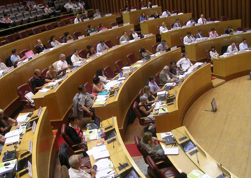 Le conseil régional adoptait hier le budget primitif de l'année 2012