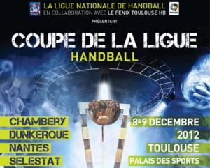Handball la billeterie pour le final four de la coupe de la ligue est ouverte toulouse infos - Final de la coupe de la ligue ...