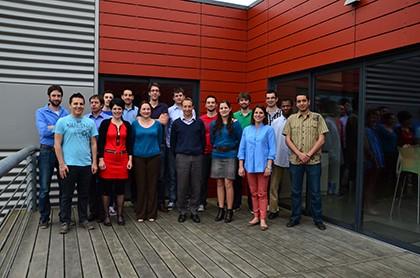 Equipe de MobiGIS. Photo / Crédit MobiGIS