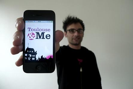 Application Toulouse&Me. Photo / CTDR