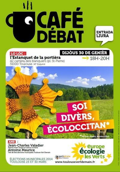 Toulouse Vert Demain organise un café-débat sur la culture occitane