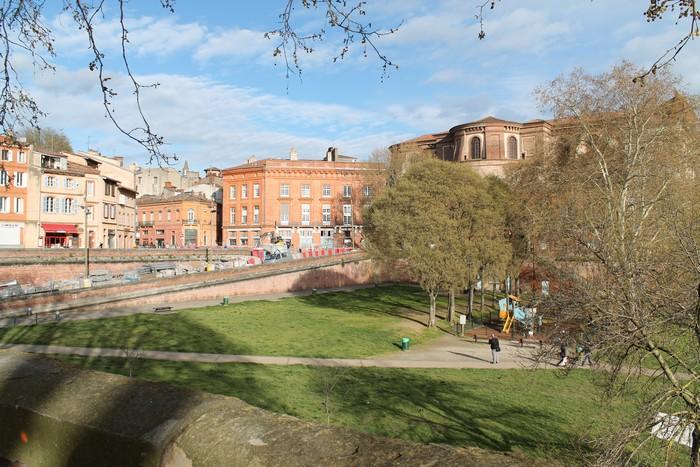 Quartier de la Daurade à Toulouse