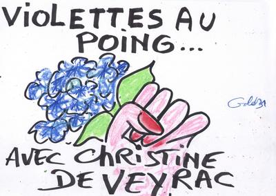 Municipales. Christine de Veyrac : porte-parole des femmes toulousaines ?