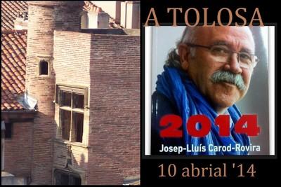 Josèp-Lluís Carod-Rovira en visite à Toulouse