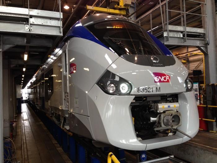 TER : les nouvelles rames Régiolis sont trop larges pour les quais des gares